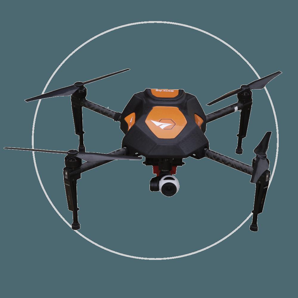 Strix-AG: Topografia, mapeamentos e monitoramentos