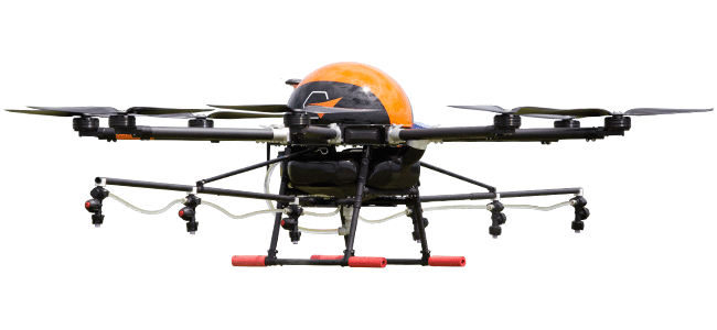 Pelicano: Spraying drone