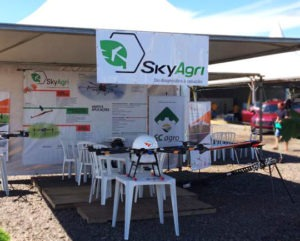 SkyAgri na Abertura da Colheita do Arroz em SC