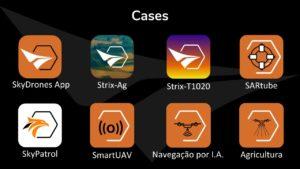 Soluções customizadas SkyDrones DJI