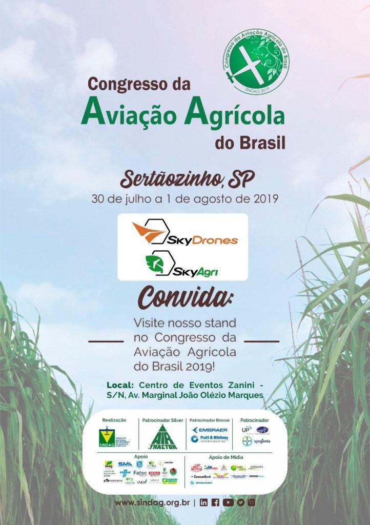 Convite Congresso Aviação Agrícola
