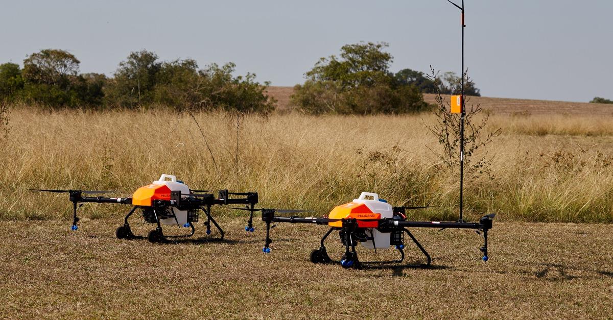 Normativa para drones de pulverização