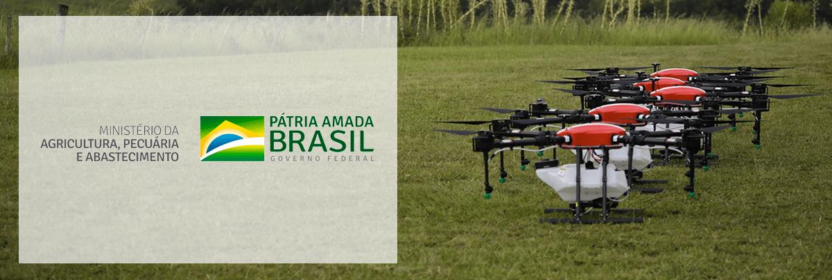Normativa do MAPA para drones de aplicação